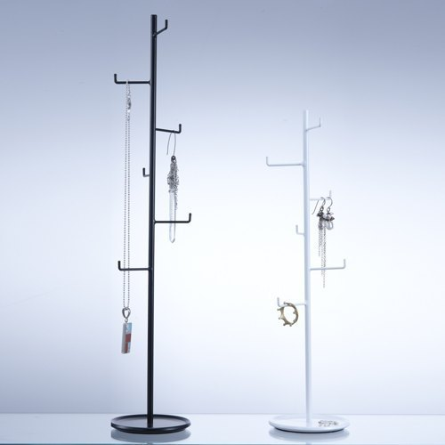 -L Freely hanging mini display black / white