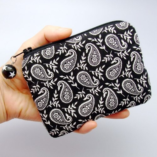 Zipper pouch / coin purse (padded) (ZS-51)