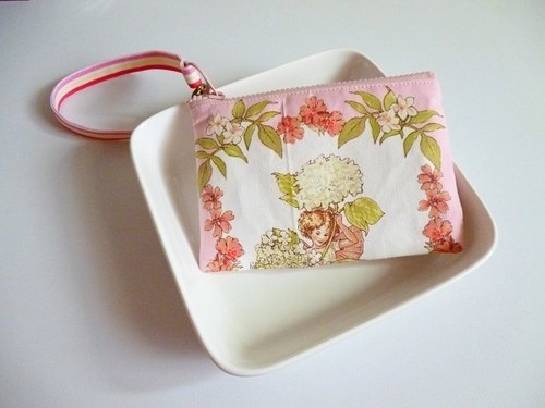 Flower Fairy documents card packs / beep card pack / purse < pink > a limited edition print