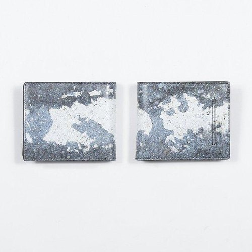 Japan fence two-fold wallet