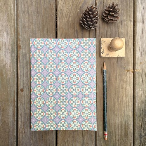 Floral NoteBook / Four Seasons series 【Winter, Walzer of Midnight】