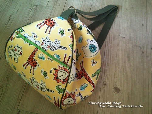 Love the Earth after the hand-made balls cute backpack bag * | choose your favorite fabric