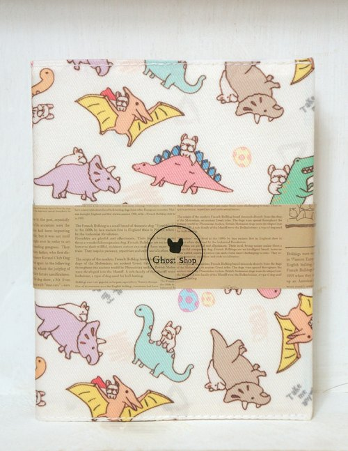 (Sold out) hand-made log book - Law Doo Jurassic