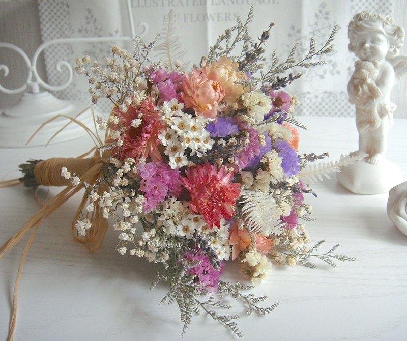 Masako spring dried flower bouquet birthday gift wedding wedding ...