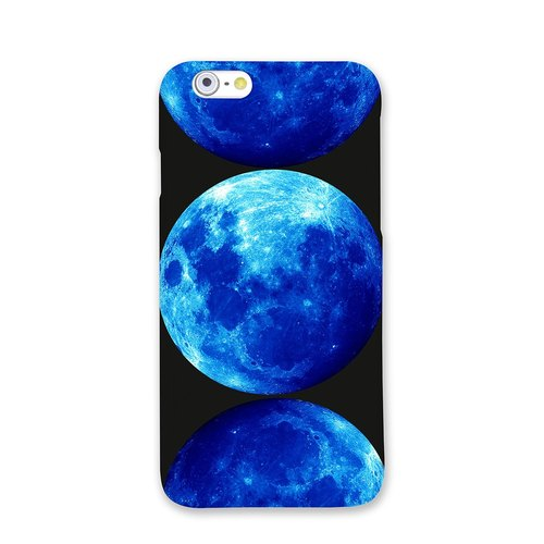 Moon iPhone Samsung Phone Case | at the end of the blue