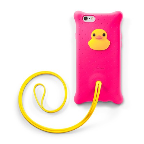 Bone / iPhone 6 / 6S Bubble neck of Case - Ducks