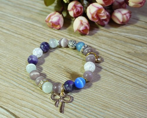 Athena / natural stone stained stone bracelet bracelet