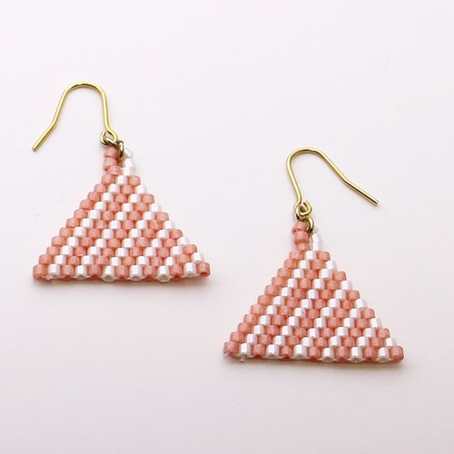 beads triangle pierces