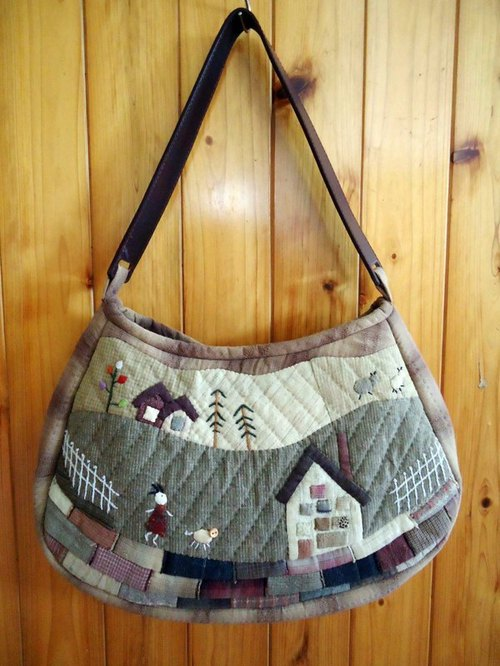 Holiday to the farm / shoulder bag