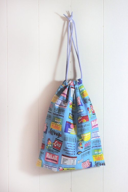 Engraved memories. Sew American Fun Facts large tote / shopping bags