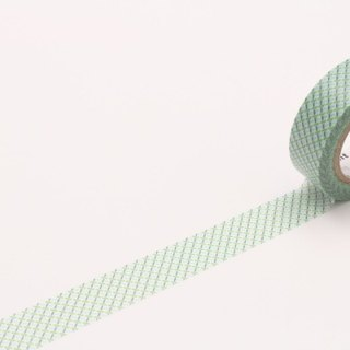 Mt and paper tape Deco [dashed line - green (MT01D300)]