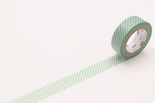 mt and paper tape Deco [dashed - Green (MT01D300)]