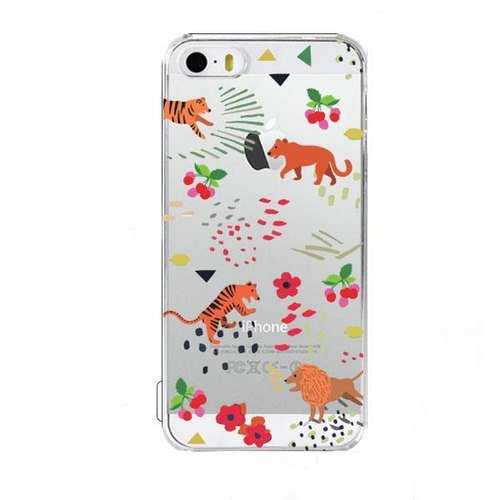 Girl apartment :: wiggle wiggle x iphone 5 / 5s phone shell transparent - Hunting