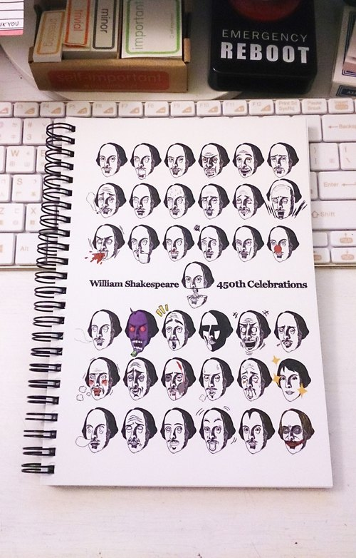 Like Shakespeare [36] Notebook - Shakespeare 450 anniversary