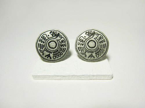 Egyptian murals _ Earrings