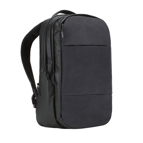 【INCASE】 City Backpack 17-inch fashion double backpack (black)
