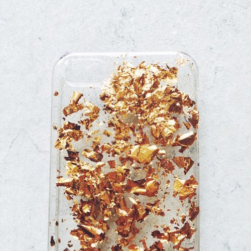 Retro gold rose gold series ll ll Phone Case