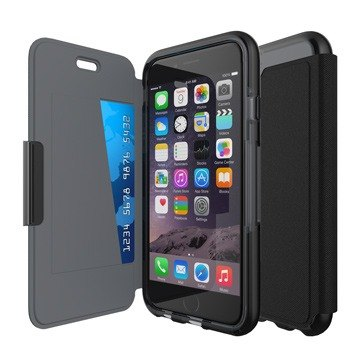 Tech21 British super shock Evo Wallet iPhone 6 / 6S Plus Collision soft protective holster (5055517348539)