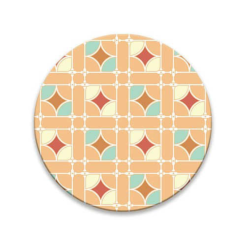 """The daily prison Flower"" Coaster - Flash"