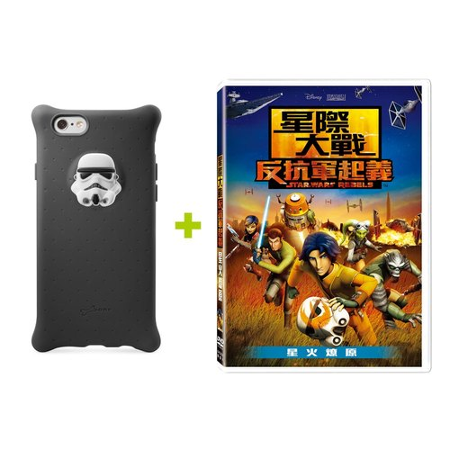 Bone / iPhone 6 / 6S bubble protector _ white soldiers + DVD Combo Pack [Star Wars]