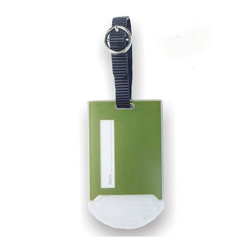 Organized Travel- Castle Series luggage tag (Forest Green)