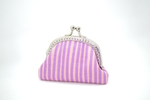 CaCa Crafts | [romantic] 8.5cm purple purse mouth gold