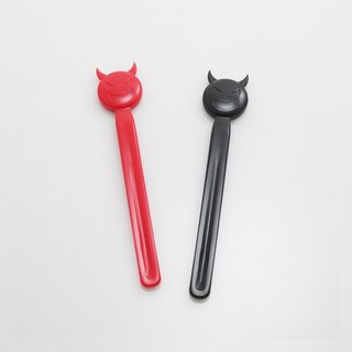 Dipper original design small devil stir bar 2 into the group - black + red