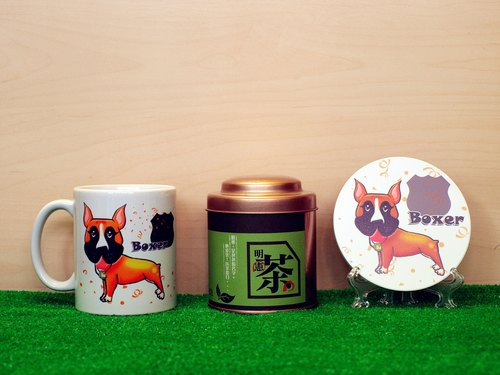 """Father Tea X NONCOOL"" Dog series - fist lion dog. Tea gift"