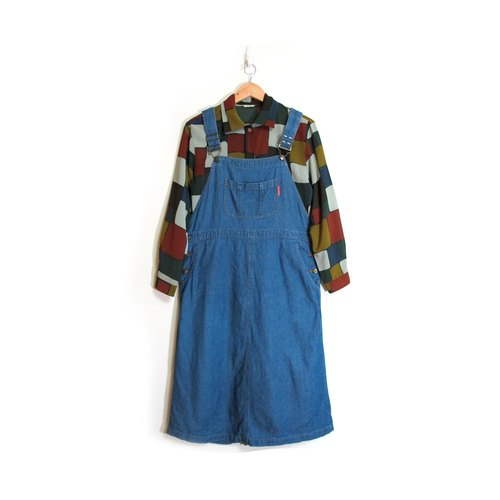 [Eggs] in a good mood plant vintage colored vintage cowboy Dress