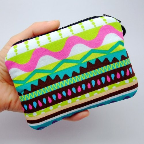 Zipper pouch / coin purse (padded) (ZS-64)