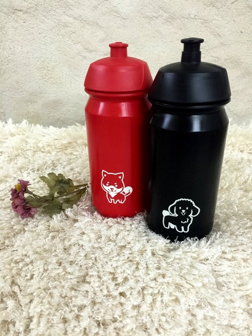 [Reflective pet stickers] adorable canine guests. Sports bottle stickers waterproof scratch. Designer paragraph .NINKYPUP