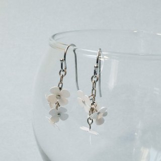 ピアス:Paper Flower Earrings No.3