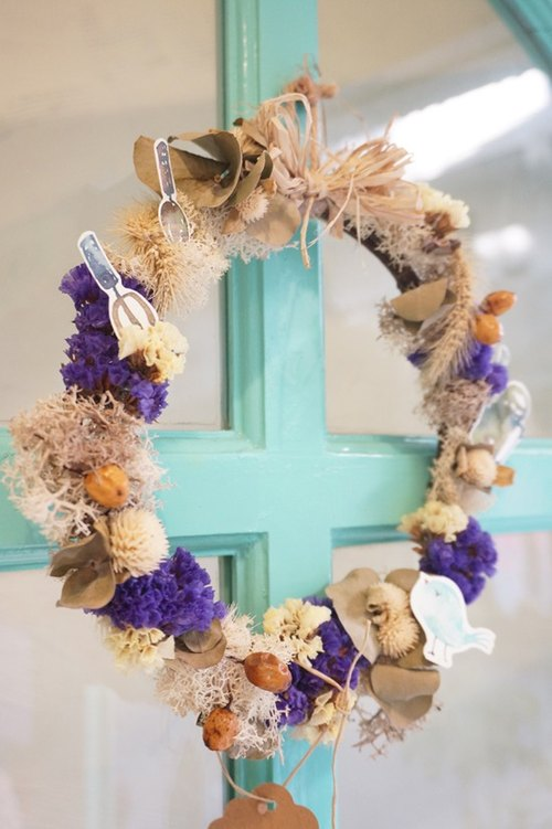 Dried wreaths - Fruit