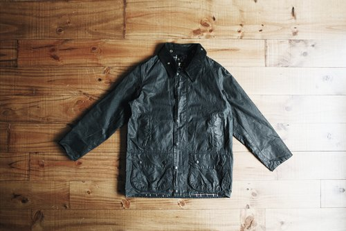 Rolling on [vintage] CJ-2778 BARBOUR WAX JACKET black