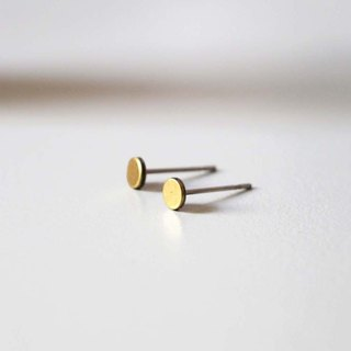 _ Copper earrings [needle]