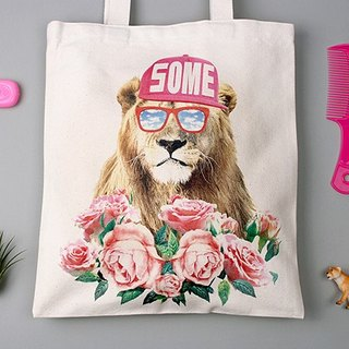 STILL AND CHEW Eco Bag - A SOME LION