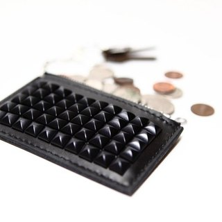 The Black Rivet - Coin Purse Black Rivet Purse