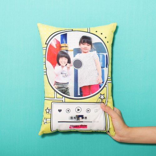 [Fun Print] [customized] Magazine Style Pillow