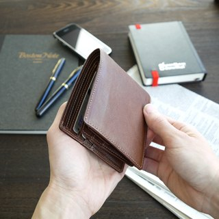 革職人 LEATHER FACTORY【Clever II Bifold Wallet】Made in Japan