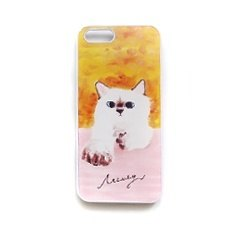 Phone shell painting cat hold my hand IPHONE4 / 4s / 5 / 5s / 6 / 6P / 6s / 6Ps