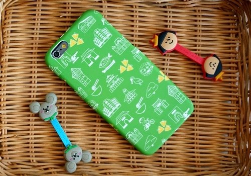 FiFi Urban Series iPhone 6 / 6s Phone Case (4.7 inches) - HE miles, Tainan! (Grass green)