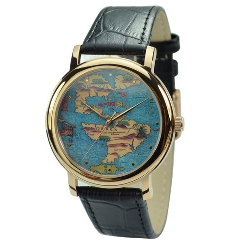 Watch ancient maps (discovered the New World) - Global Free Shipping
