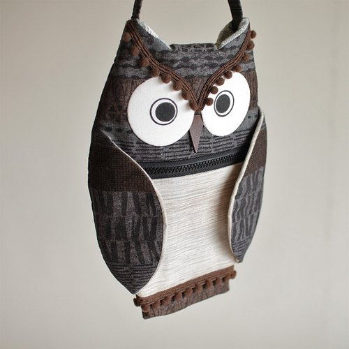 Owl cell phone pocket wallet No.3