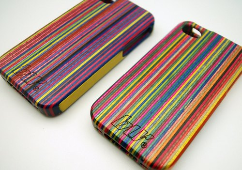 BLR iPhone4/4S Recycled Skateboard iPhone Case