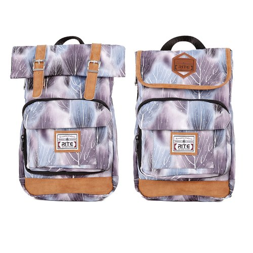 RITE twin package ║ flight bag x vintage bag 2.0 (S) - Grove White ║