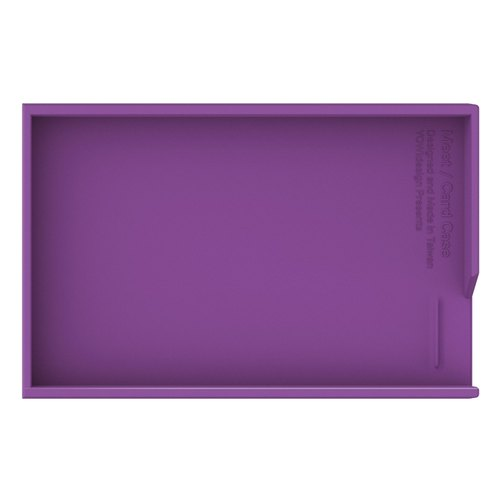 MEET + card case / under cover - purple
