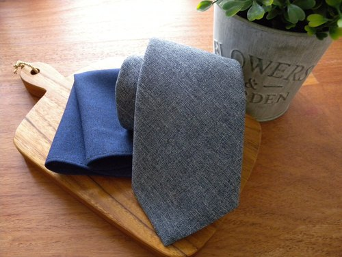 Neck Tie Blue Osaka Set #2