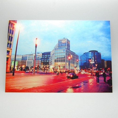 Travel Postcard: Berlin, Germany.Street Scene III(Out of print)