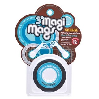 3+ MagiMags Magnetic Tape    19mm x 5M Neon.LightBlue