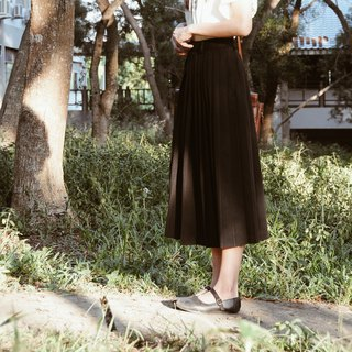 Spend vintage / Nippon uniform texture autumn and winter black dress